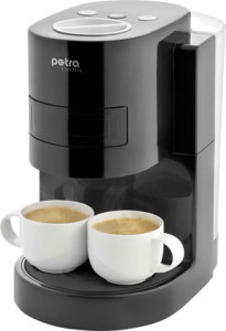 petra km kaffeepadautomat. Black Bedroom Furniture Sets. Home Design Ideas