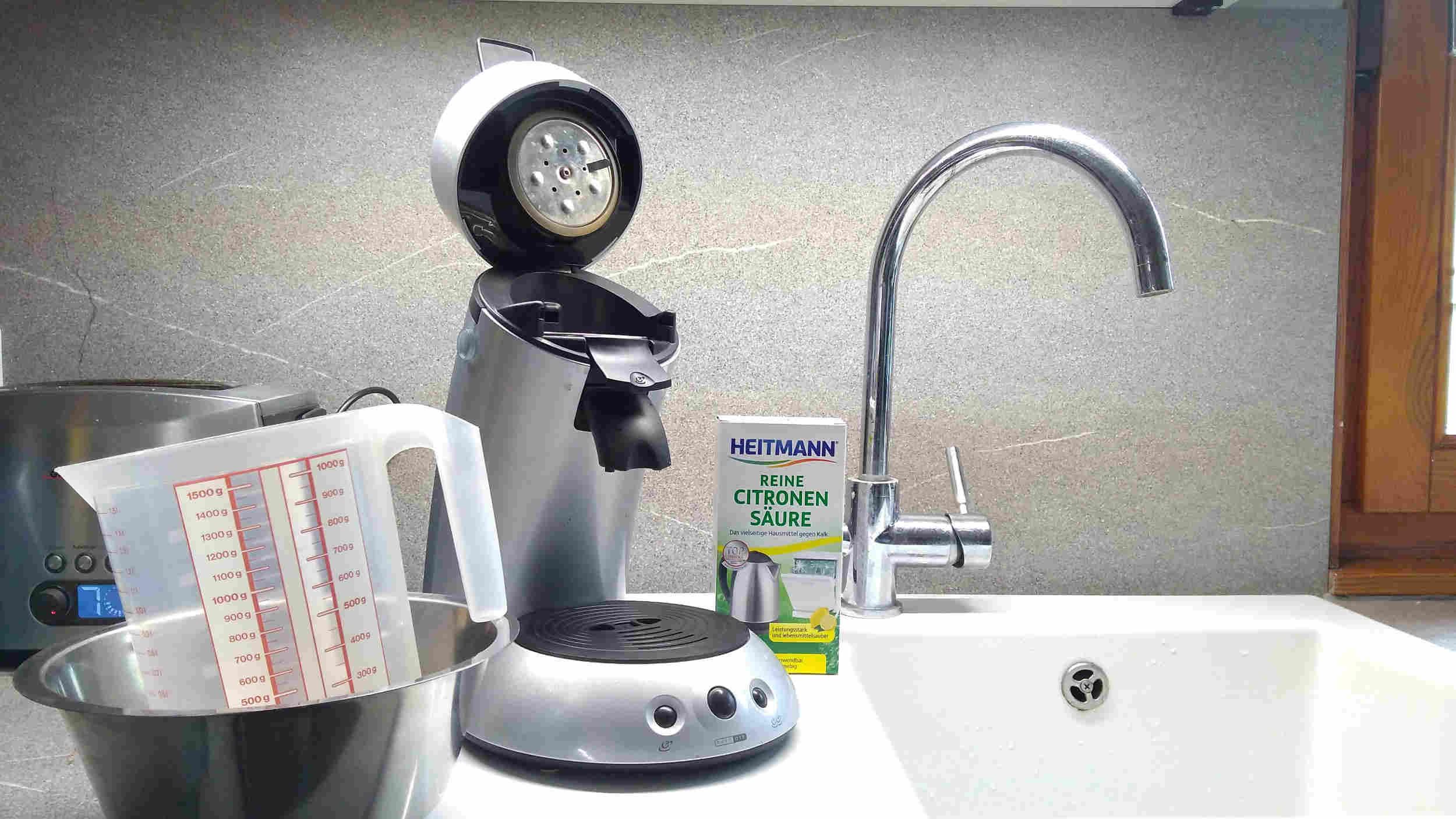 Einfache Anleitung: Senseo entkalken mit günstigen Hausmitteln